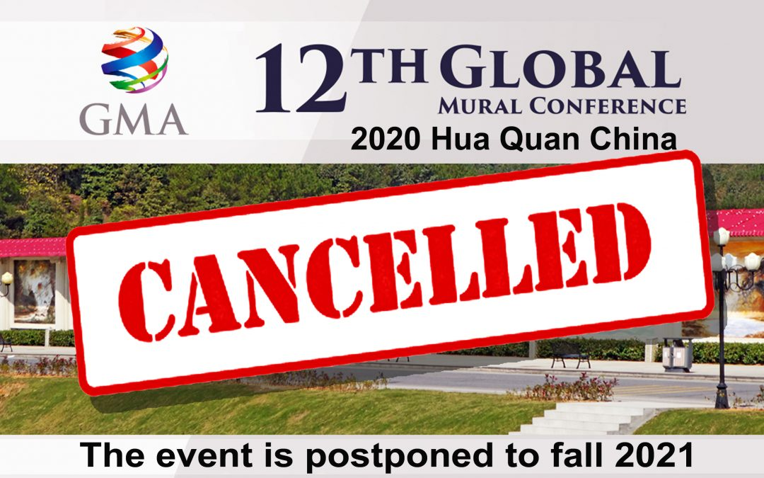 12th Global Mural Conference Cancelled